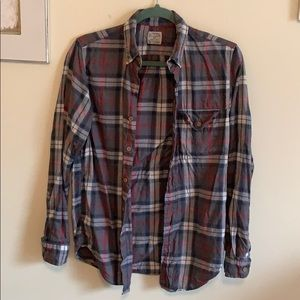 Jcrew men's flannel. Size xs